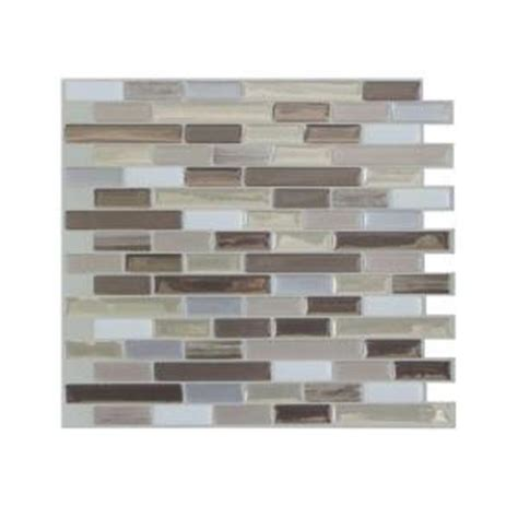 home depot durango smart tiles 9 125 in x 10 25 in muretto durango mosaic