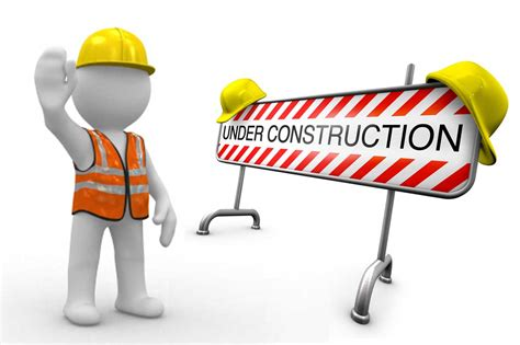 Underconstruction Template by Construction