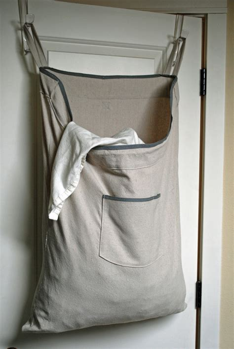 hanging laundry bag room hanging her laundry bag drawstring bag with