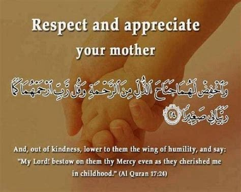 does islam speaks about mothers quora