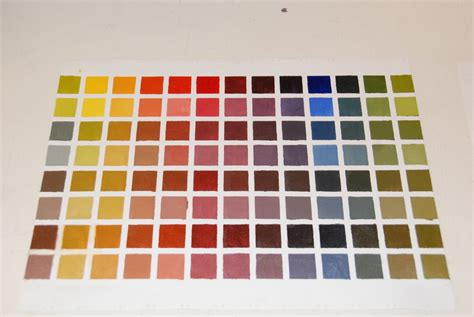 painting color value chart car interior design