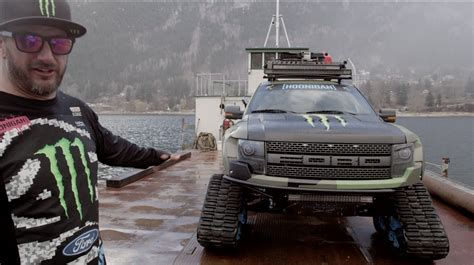 video monster monster energy ken block showcases his ford f 150