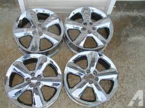 Chrysler Pt Cruiser Rims Chrysler Pt Cruiser Chrome Wheels 17 Quot For Sale In