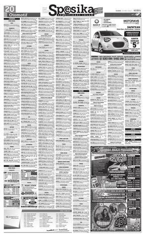 2002 Isuzu Panther Ls Sporty issuu e paper surya edisi 23 mei 2013 by harian surya