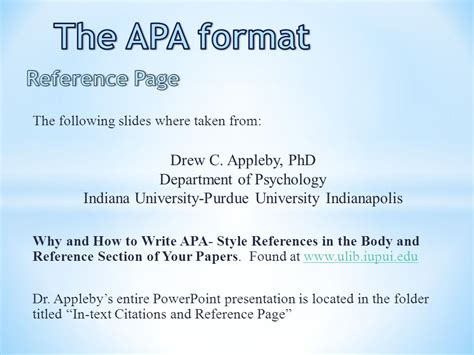 The Apa Format Title Page Ppt Video Online Download How To Use Apa Format In Powerpoint