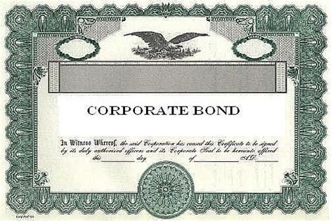 corporate bond certificate template living stingy corporate bonds