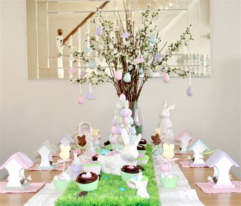 Nice Pottery Barn Christmas Table Runner #7: Easter-table-decorations.png