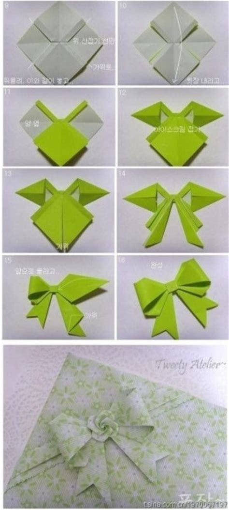 Ribbon Origami Tutorial - best 25 paper bows ideas on gift bows