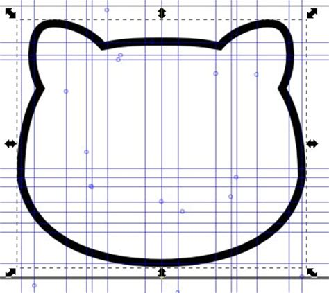 inkscape tutorial hello kitty inkscape hello kitty