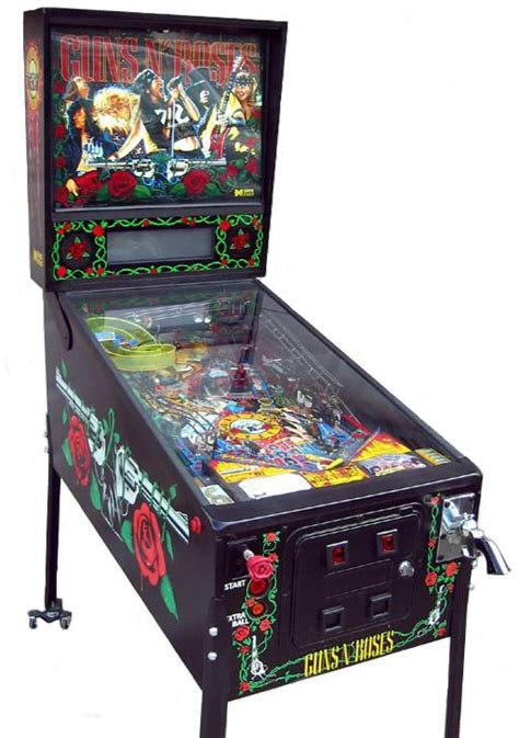 guns n roses pinball machine liberty