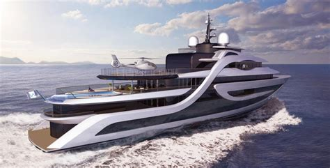 Motor For Harbor Hbr 4 Helicopter new 75m concept designed by andy waugh yacht harbour