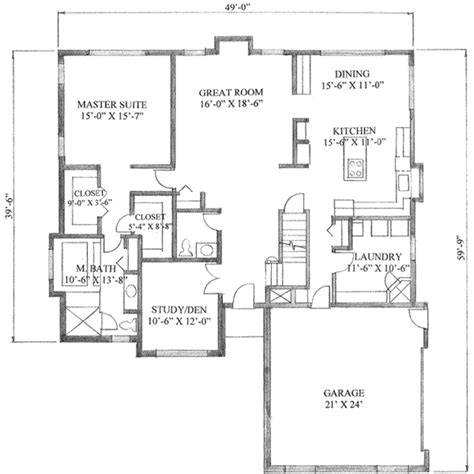 2500 sq foot house plans traditional style house plan 3 beds 2 5 baths 2500 sq ft