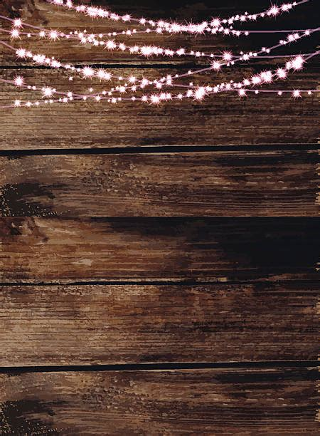 wood tree with lights wood background clip vector images illustrations
