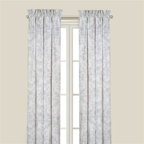 drapery panels 84 cement gray clementina drapery curtain panels 50 quot x 84 quot c f