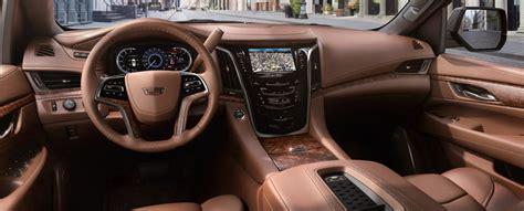 Best 2 Color Combination by 2017 Cadillac Escalade Suv Interior Gm Fleet