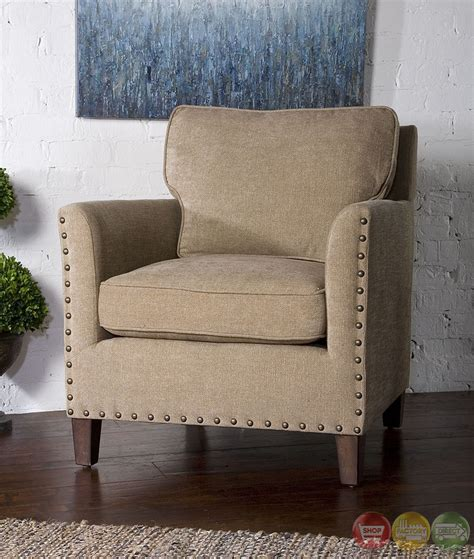 Chenille Armchair by Keturah Plush Cushioned Chenille Upholstered Armchair 23066