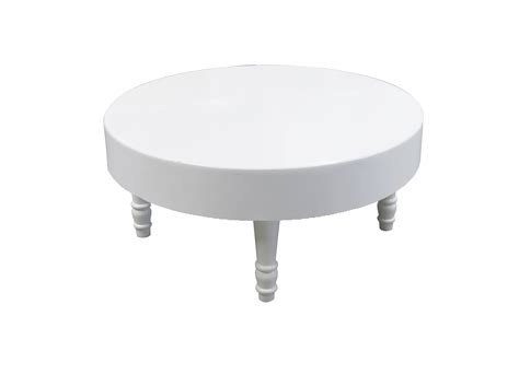 white round end table rent or buy avalon round white coffee table event rental