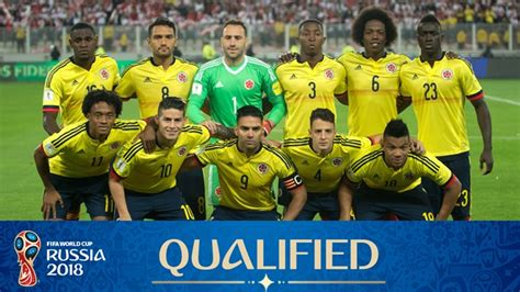 columbia card world cup who from south america has qualified for the fifa 2018