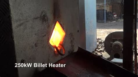 induction heating forge learn how using an induction bar end heater will increase productivity