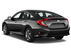 Honda Civic 4 Door For Sale Image 2016 Honda Civic 4 Door Cvt Lx Angular Rear