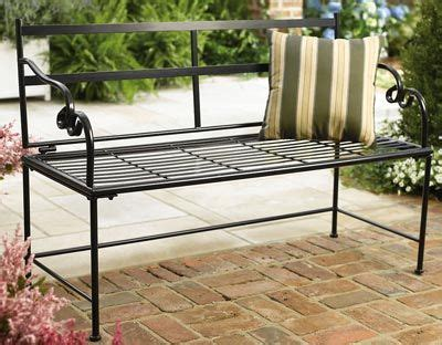 black metal garden bench black metal garden bench