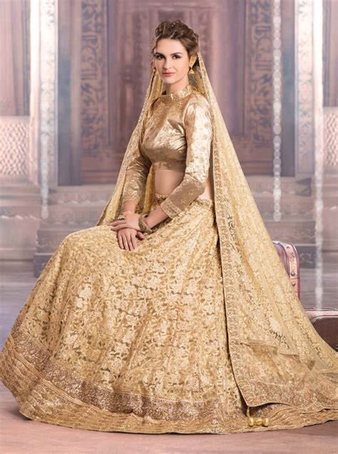 Wedding Attire Colours by Golden Color Wedding Attire Ideas For Bridal Weddings