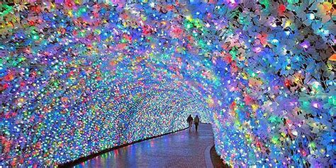 japan flower tunnel 21 unseen tunnels that will convince you heaven is on