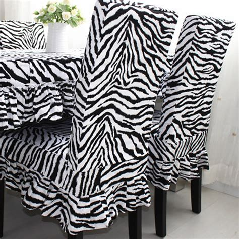 zebra slipcover zebra chair cover