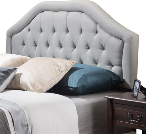 Light Gray Headboard Celina Headboard Light Gray Contemporary Headboards