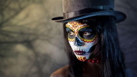 imagenes de halloween mexico day of the dead wallpapers wallpaper cave