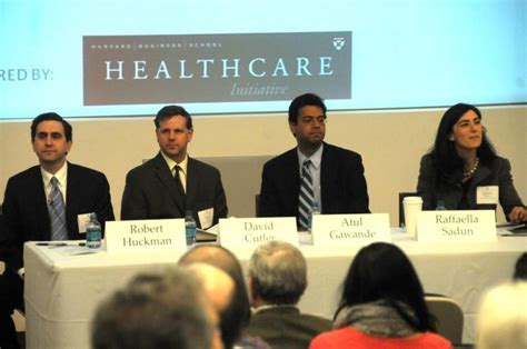 Harvard Mba Healthcare by Harvard Business School Panelists Examine Health Care