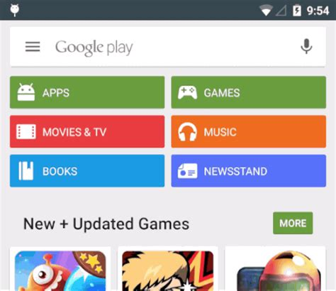 Can See Who Search For Them On Update Check Now Play Store For Android Gets Search Bar With Hamburger Flip In