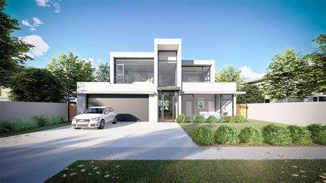 bedroom modern house interactive  model  hd