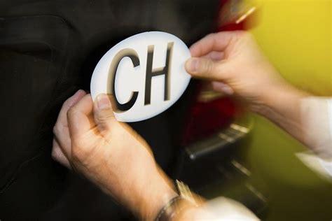Ch Aufkleber Tcs by Attenzione Ecco Cosa Potrebbe Succedervi Senza