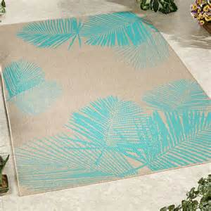 Tropical Outdoor Rugs Terrace Palm Tropical Indoor Outdoor Rugs By Liora Manne
