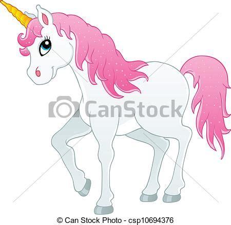 theme line unicorn vectors illustration of fairy tale unicorn theme image 1