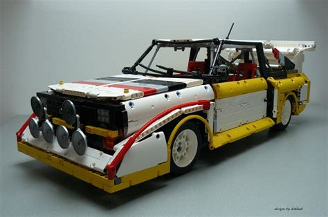 Lego Audi by Audi S1 Quattro By Dokludi Lego Technic Mindstorms