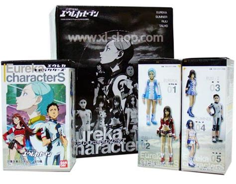 Bandai Characters Collection Trading Figure bandai eureka characters trading figure set of 5