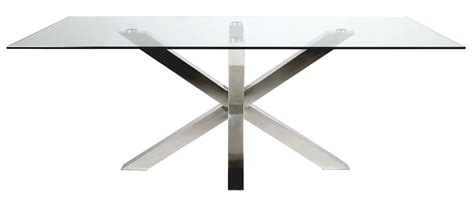 table salle a manger verre table verre design