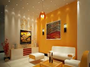 wall colour combination for living room interior