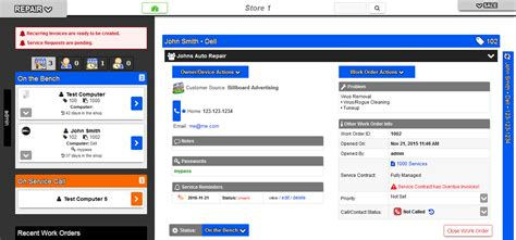 computer repair database template computer repair database template gallery template