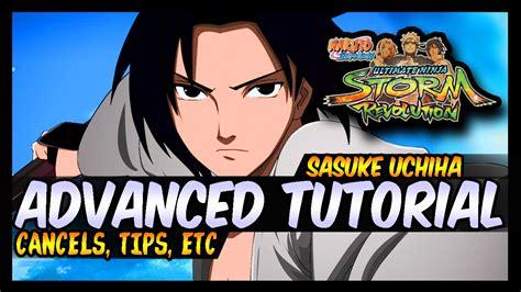 tutorial naruto revolution naruto storm revolution advanced sasuke cursemark