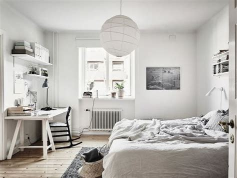 white bedroom desk 27 cool bedrooms and workspaces in one digsdigs