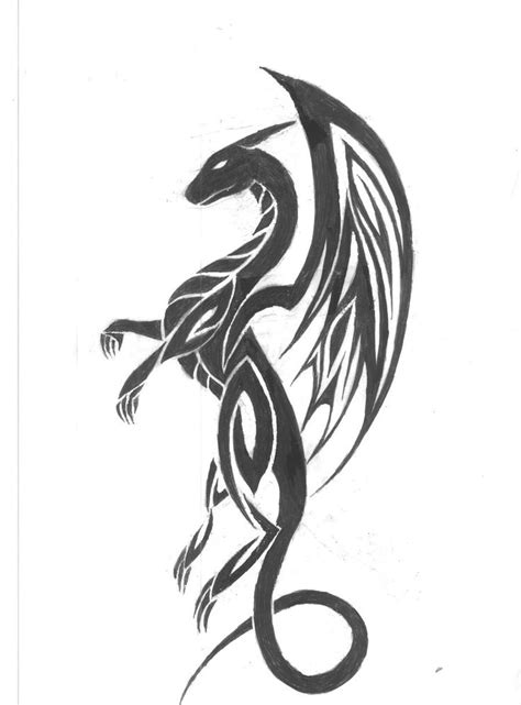 celtic tribal dragon tattoo best 25 celtic tattoos ideas on celtic
