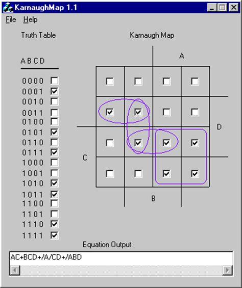 k map karnaugh map 1 2
