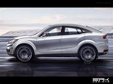 xuv500 design concept mahindra xuv aero coupe suv concept rendering gaadiwaadi