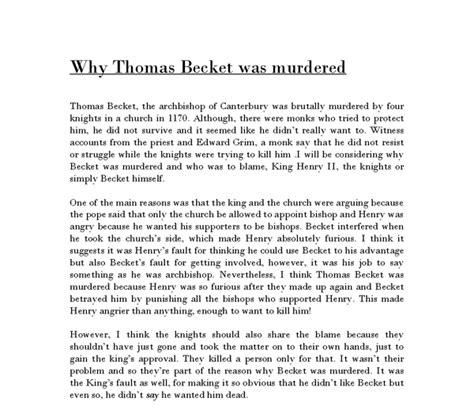 Murder Essay by Becket Essay Reportz60 Web Fc2