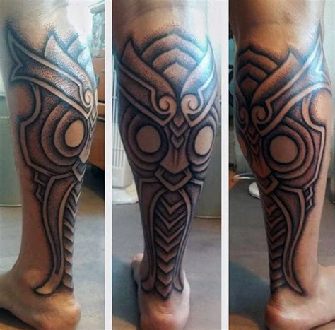 50 calf tattoos for men body art below the knee