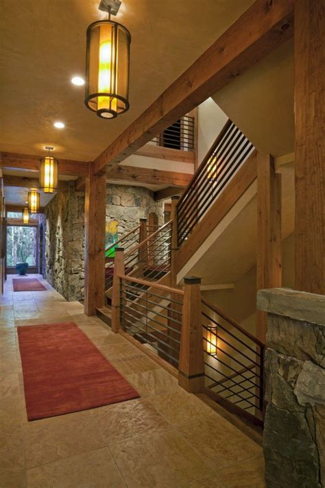 Hallway Railings Rustic Modern Hallway Rails The Home Is Where The