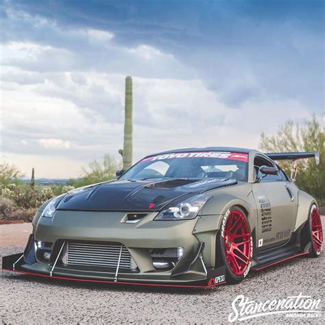 custom nissan 350z kits 17 best images about bumper kit custom widebody